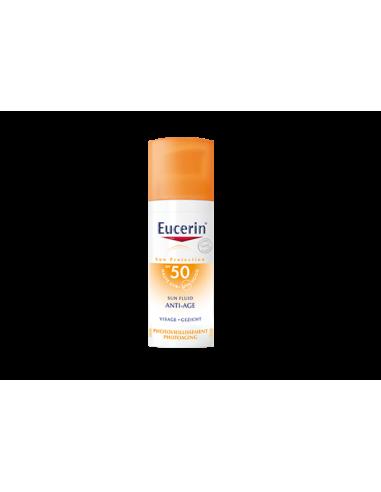 EUCERIN Sun Fluid Anti-Âge 50 - 50ml