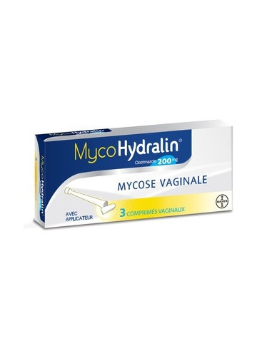 MYCOHYDRALIN 200 mg - 3 comprimés...