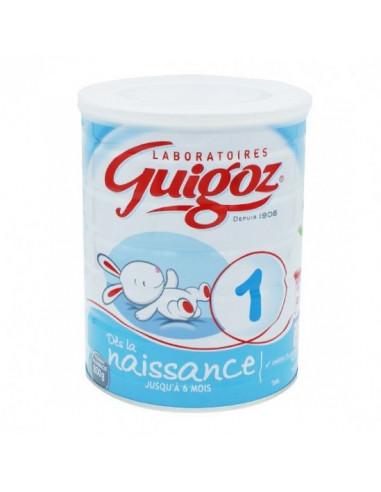 Guigoz 1 lait poudre dès la naissance...